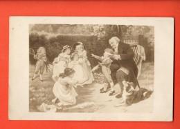 JAI-32  Colin-maillard  Scène De Jeu, Cachet 1910 - Cartes Postales