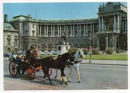 Autriche--VIENNE -- Neue Hofburg  (attelage De Chevaux,animée )  ---cachet  --timbre...........à Saisir - Autres