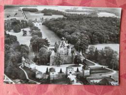 Dep  51 , Cpsm  MONTMORT , Vue Aérienne , 4112 , Le  Chateau Et L'entrée (02.481) - Montmort Lucy