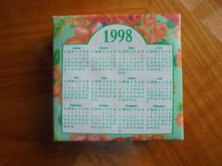 Ancien Calendrier Bloc-notes 1998 Cadeau Publicitaire Yves Rocher - Calendari