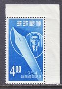 Ryukyu  30   **   NEWSPAPER  WEEK - Ryukyu Islands