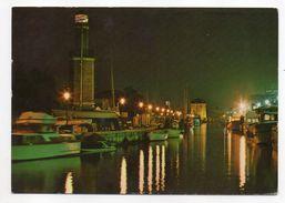 Italie--CERVIA--MILANO MARITTIMA---Notturno Del Porto Canale E Torre S.Michele - Italie
