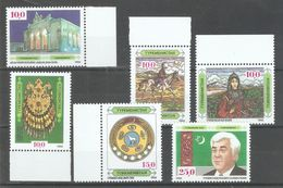 TURKMENISTAN 1992 FIRST STAMPS - CAMEL - JEWELRY - HORSE MINT NH** (SL-1) - Turkmenistan