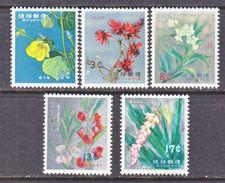 Ryukyu  98-102    **    FLORA    FLOWERS - Ryukyu Islands