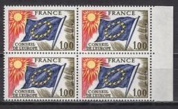 FRANCE 1976 / 1978 - BLOC DE 4 TP  Y.T. N° 49 - NEUFS** /Y193 - Neufs