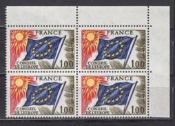 FRANCE 1976 / 1978 - BLOC DE 4 TP  Y.T. N° 49 COIN DE FEUILLE - NEUFS** /Y193 - Neufs