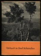01814 Bad Schandau 1960 E3238 Antiquariat Alte Bücher Altes Buch - Saxe