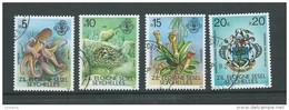 Seychelles Zil Eloigne Sesel 1981 Fauna Definitives The 4 High Values VFU Marine Life - Seychelles (1976-...)