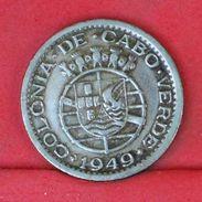 CAPE VERDE 50 CENTAVOS 1949 -    KM# 6 - (Nº18882) - Cape Verde