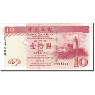 Macau, 10 Patacas, 2003, 2003-12-08, KM:102, NEUF - Macao