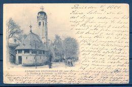 1900 , FINLANDIA - EXPOSICION UNIVERSAL DE 1900 , PABELLON DE FINLANDIA , CIRCULADA A HELSINKI , LLEGADA - Finlandia