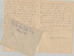 ✉ Feldpost 1918, Feldrekrutendepot .. Brief-Stemn.. 1. Kompag.., Nach Gerber Wurzen Sa. 0029170920 - Germany