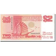 Singapour, 2 Dollars, 1990, KM:27, NEUF - Singapore