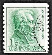 United States - Scott #1225 Used (3) - Roulettes