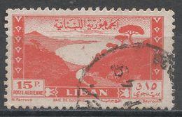 Lebanon 1947. Scott #C121 (U) Bay Of Jounie * - Liban