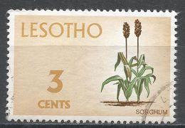 Lesotho 1971. Scott #95 (U) Sorghum, Flower * - Lesotho (1966-...)