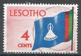 Lesotho 1971. Scott #97 (U) National Flag, Drapeau * - Lesotho (1966-...)