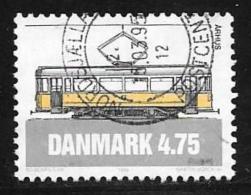 Denmark, Scott # 1007 Used Tram, 1994 - Danemark
