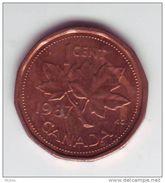 Canada, 1989, 1¢, Élizabeth II - Canada