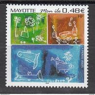 2005 Mayotte  Stick Figure Drawing Complete Set Of 1 MNH - Mayotte (1892-2011)