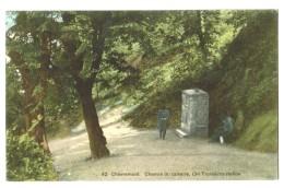 18214   CPM CHEVREMONT  : Chemin Du Calvaire  , Troisième Station ! Neuve   ACHAT DIRECT !! - Chaudfontaine
