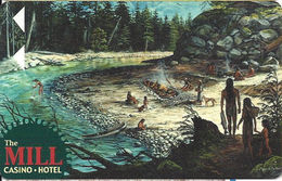 The Mill Casino - North Bend, OR - Hotel Room Key Card - Hotel Keycards