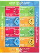 2017. Azerbaijan,  5th Islamic Solidarity Games, Sheetlet, Mint/** - Azerbaïjan