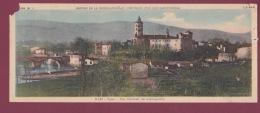 150917 - 66 ARLES SUR TECH Chocolaterie CANTALOUP CATALA CEMOI - VUE PANORAMIQUE CARTE DOUBLE - 81 LABRUGUIERE Vue - Labruguière