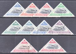 COMPANIA  MOZANBIQUE  165-74   *  (o)  AERO   TRIANGLES - Mozambique