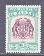 Companhia De Mozambique  193  **  ARMS  ELEPHANTS - Mozambique