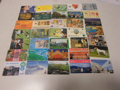 WORLD MIX - Nice Lot Of 35 Different Phonecards With RARER Cards - Télécartes