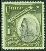 CHILE 1905-09 1p COLUMBUS* (MLH) - Cile