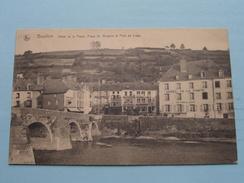 Hôtel De La Poste, Place St. Arnould Et Pont De Liège ( Thill ) Anno 1927 ( Zie Foto Voor Details ) !! - Bouillon