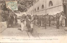 Orange-5eme Compagnie Du 15eme Escadron Du Train Des Equipages - Régiments