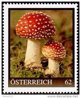 AUSTRIA ÖSTERREICH 2014  Fliegenpilz (Marken Edition 1)  MNH / ** / POSTFRISCH - Champignons