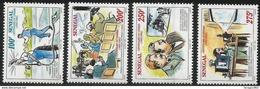 1995 Senegal  Film Movies Lumiere Cinematography Complete Set Of 4 MNH - Senegal (1960-...)