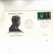 DAHOMEY  PREMIER JOUR  JOHN FITZGERALD KENNEDY - Stamps