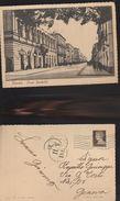 13162) BRINDISI CORSO GARIBALDI VIAGGIATA 1939 INSOLITO TIMBRO 11 D (4) - Brindisi