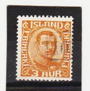 MAG1414  ISLAND 1920  Michl 84 Used / Gestempelt  ZÄHNUNG Siehe ABBILDUNG - 1918-1944 Unabhängige Verwaltung