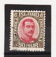 MAG1418  ISLAND 1920  Michl 95 Used / Gestempelt  ZÄHNUNG Siehe ABBILDUNG - 1918-1944 Unabhängige Verwaltung