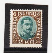 MAG1419  ISLAND 1920  Michl 97 Used / Gestempelt  ZÄHNUNG Siehe ABBILDUNG - 1918-1944 Unabhängige Verwaltung