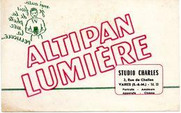 Altipan Lumière. Studio Charles à Vaires (Seine-et-Marne) - Buvards, Protège-cahiers Illustrés