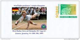 SPAIN, 2014 Wimbledon Gentlemen´s Singles Champions, Boris Becker, Leimen, Germany  W (1985, 1986, 1989) Tennis - Tennis