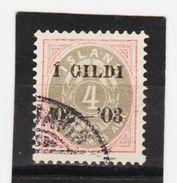MAG1422  ISLAND 1902  Michl 25 Used / Gestempelt  ZÄHNUNG Siehe ABBILDUNG - 1918-1944 Unabhängige Verwaltung
