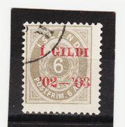 MAG1426  ISLAND 1902  Michl 27 Used / Gestempelt  ZÄHNUNG Siehe ABBILDUNG - 1918-1944 Unabhängige Verwaltung