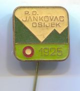 Alpinism, Mountaineering, Climbing - PD JANKOVAC, Osijek Croatia, Transversal, Vintage Pin, Badge, Abzeichen - Alpinism, Mountaineering