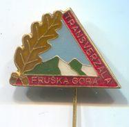 Alpinism, Mountaineering, Climbing - FRUSKA GORA, Vojvodina Serbia, Transversal, Vintage Pin, Badge, Abzeichen - Alpinism, Mountaineering