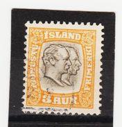 MAG1437  ISLAND 1907  Michl 24 DIENST Used / Gestempelt  ZÄHNUNG Siehe ABBILDUNG - Dienstpost