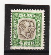 MAG1438  ISLAND 1907  Michl 25 DIENST Used / Gestempelt  ZÄHNUNG Siehe ABBILDUNG - Dienstpost