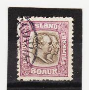 MAG1440  ISLAND 1907  Michl 31 DIENST Used / Gestempelt  ZÄHNUNG Siehe ABBILDUNG - Dienstpost